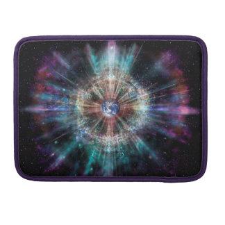 Bolsa Para MacBook Pro Aura da terra H007