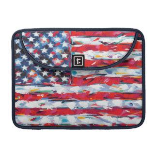 Bolsa Para MacBook Pro Bandeira americana