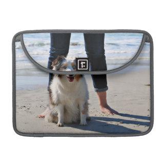Bolsa Para MacBook Pro Bennett - mini australiano - Rosie - praia de