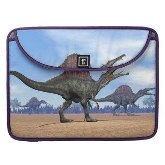 Bolsa Para MacBook Pro Caminhada dos dinossauros de Spinosaurus - 3D