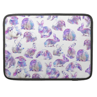 Bolsa Para MacBook Pro Coelhos engraçados bonitos