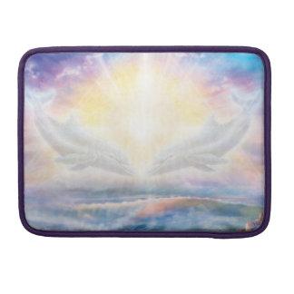 Bolsa Para MacBook Pro Coração dos golfinhos H006