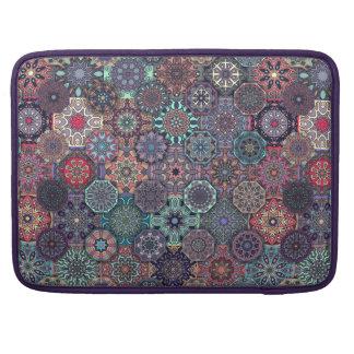 Bolsa Para MacBook Pro Design abstrato colorido do teste padrão do