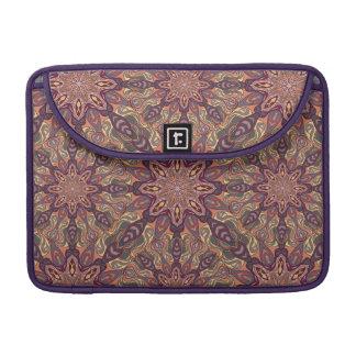 Bolsa Para MacBook Pro Design floral do teste padrão do abstrato da