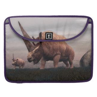 Bolsa Para MacBook Pro Dinossauros do mamífero de Elasmotherium - 3D