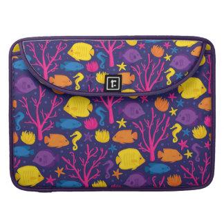 Bolsa Para MacBook Pro Grupo do recife de corais