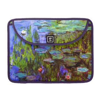 Bolsa Para MacBook Pro Lírios de água por Claude Monet