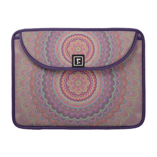 Bolsa Para MacBook Pro Mandala geométrica do Hippie