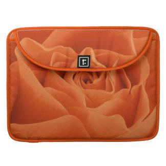 Bolsa Para MacBook Pro Pétalas cor-de-rosa alaranjadas