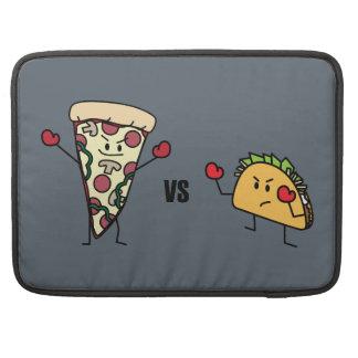 Bolsa Para MacBook Pro Pizza de Pepperoni CONTRA o Taco: Mexicano contra
