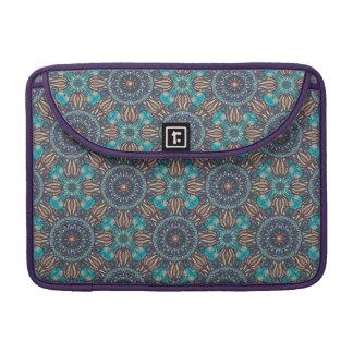 Bolsa Para MacBook Pro Teste padrão floral étnico abstrato colorido da