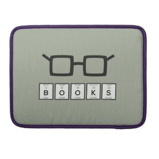 Bolsa Para MacBook Registra os vidros Zh6zg do nerd do elemento