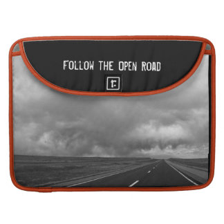 Bolsa Para MacBook Siga a luva aberta de MacBook da estrada