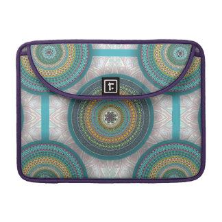 Bolsa Para MacBook Teste padrão floral étnico abstrato colorido da