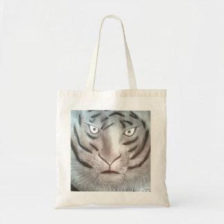 Bolsa tigre desenhado em grafite