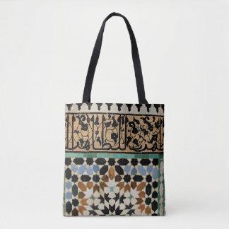 Bolsa Tote 110 - Sacola do desenhista - azulejos de