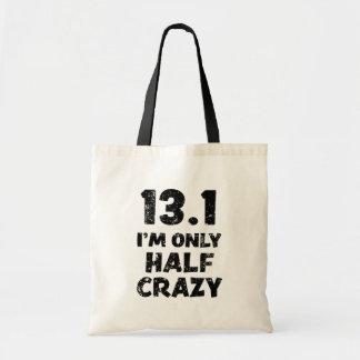 Bolsa Tote 13,1, eu sou saco engraçado louco somente meio da