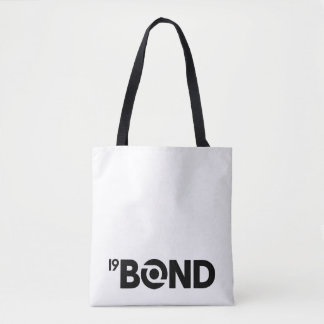 Bolsa Tote 19Bond sacola superior - logotipo