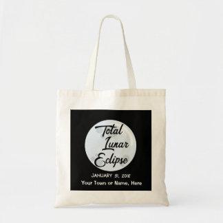 Bolsa Tote 2018 personalizou a sacola do eclipse lunar