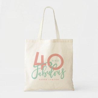 Bolsa Tote 40 e sacola fabulosa
