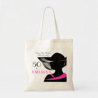 Bolsa Tote 50 e aniversário elegante do art deco fabuloso