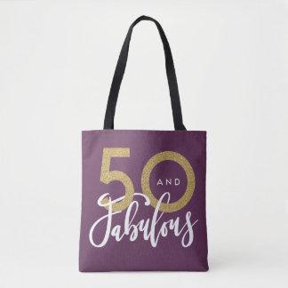 Bolsa Tote 50 e fabuloso