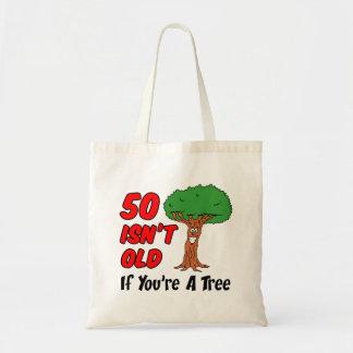 Bolsa Tote 50 não é velho se você é uma sacola da árvore