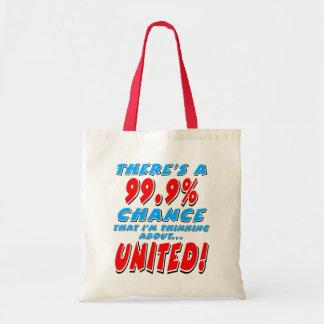 Bolsa Tote 99,9% UNIDO (preto)