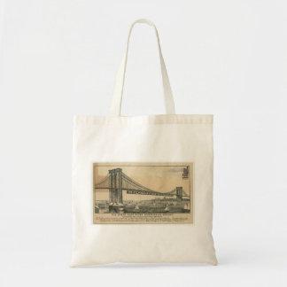 Bolsa Tote A academia de New York da medicina - ponte de