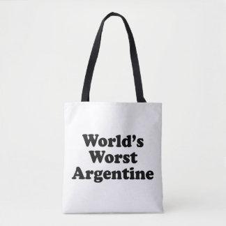 Bolsa Tote A Argentina a mais má do mundo