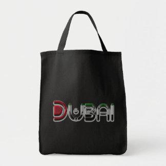 Bolsa Tote A bandeira dos UAE da cidade de Dubai colore a