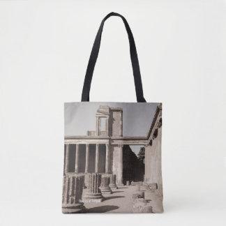 Bolsa Tote A basílica em Pompeii