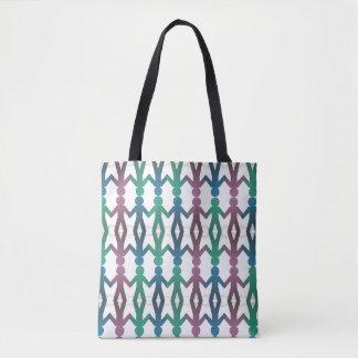 Bolsa Tote A caminhada modela em conjunto a sacola