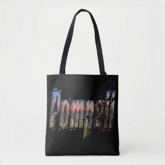 Bolsa Tote A cidade antiga do saco de Pompeii