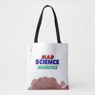 Bolsa Tote A ciência louca cronometra o Bolsa-pre manchado de