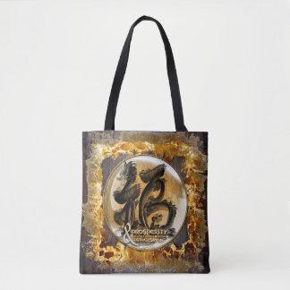 Bolsa Tote A CONEXÃO DA PROSPERIDADE: Arte do Fengshui