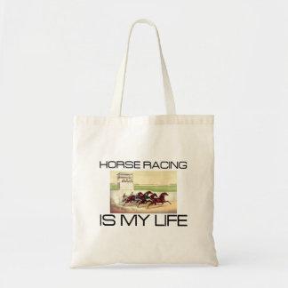 Bolsa Tote A corrida de cavalos SUPERIOR é minha vida