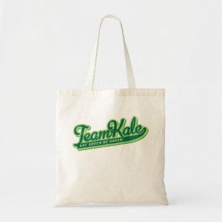 Bolsa Tote A equipe que a couve come o verde seja verde