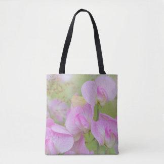 Bolsa Tote A ervilha doce floresce   Seabeck, WA