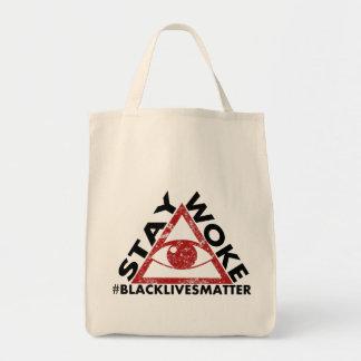 Bolsa Tote A estada acordou o protesto do #blacklivesmatter