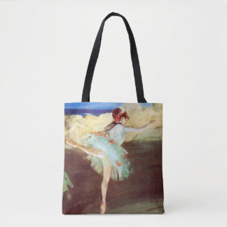 Bolsa Tote A estrela: O dançarino no ponto desgaseifica perto