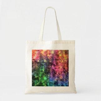 Bolsa Tote A extremidade do abstrato do arco-íris