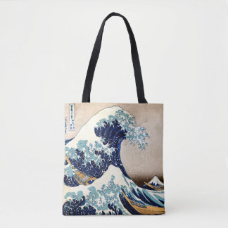 Bolsa Tote A grande onda fora de Kanagawa