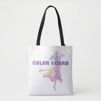 Bolsa Tote A guarda de cor com dança da rotação executa a