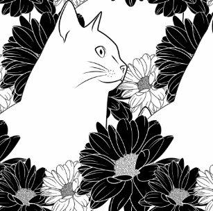 Acessórios Desenho Da Flor Branca Zazzlecombr