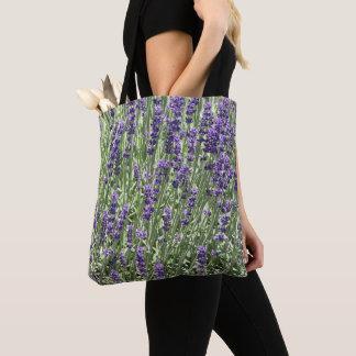 Bolsa Tote A lavanda floresce floral
