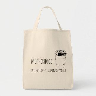 Bolsa Tote A maternidade abasteceu-se pelo amor, sustentado