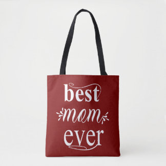 Bolsa Tote A melhor sacola da mamã nunca para o dia das mães