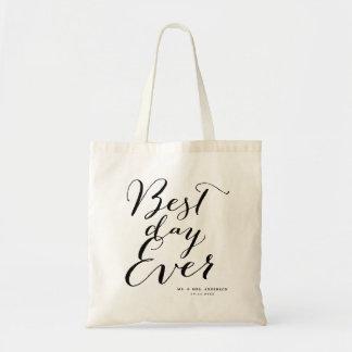 Bolsa Tote A melhor sacola do casamento do roteiro da