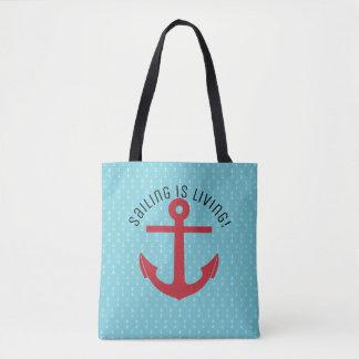 Bolsa Tote A navigação está vivendo!